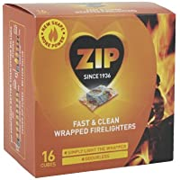 Zip Fast & Clean Wrapped Firelighters by ZIP