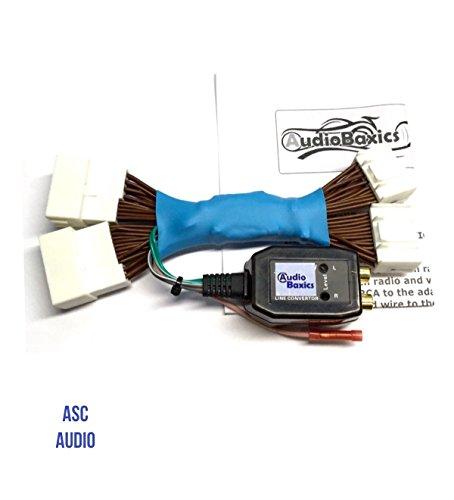 Add An Amp Amplifier Adapter Interface to Factory OEM Radio System for Subwoofer, etc. for some 2011 - 2013 Hyundai Elantra, 2011 - 2014 Hyundai Sonata, 2010 - 2011 Hyundai Tucson, 2011 - 2013 Kia Optima, 2015 Kia Sedona, 2014 - 2016 Kia Sorento, 2012 - 2015 Kia Soul, 2011 - 2014 Kia Sportage