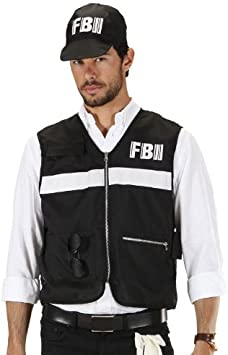 WIDMANN 7587S - Disfraz de policía para hombre (talla XL): Amazon ...