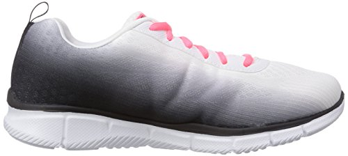 Skechers Equalizer Perfect Pair Damen Sneakers Weiß (WBLK)