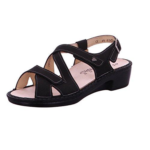 Finn Comfort 02685046099 - Sandalias de vestir para mujer negro negro * negro