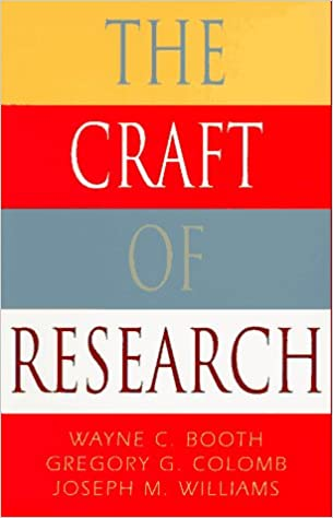 the craft of research fourth edition (chicago guides to writing editing and publishing)