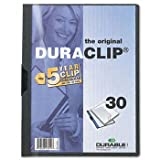 Durable® DuraClip® Report Cover COVER,REPORT,BNDR,LTR,GPH (Pack of50)