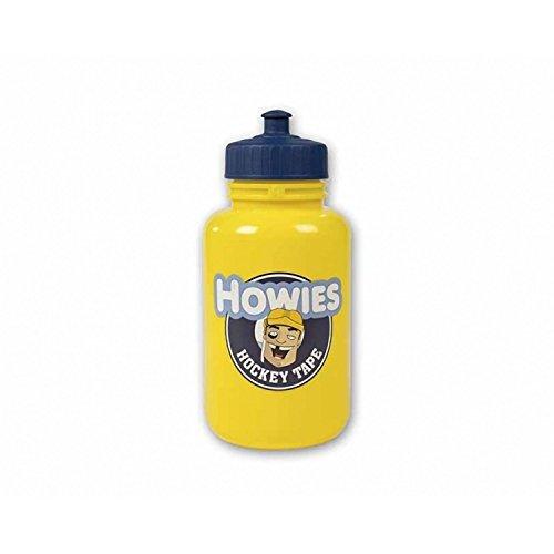 Howies Hockey Tape Sports Water Bottle Pop Top Or Long Straw  Yellow  Pop Top