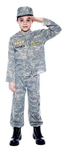 Boys  (Army Halloween Costumes Kids)
