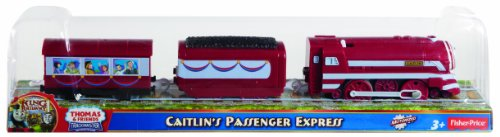 - Fisher-Price Thomas & Friends TrackMaster, New Friends/Greatest Moments - Caitlin's Passenger Express