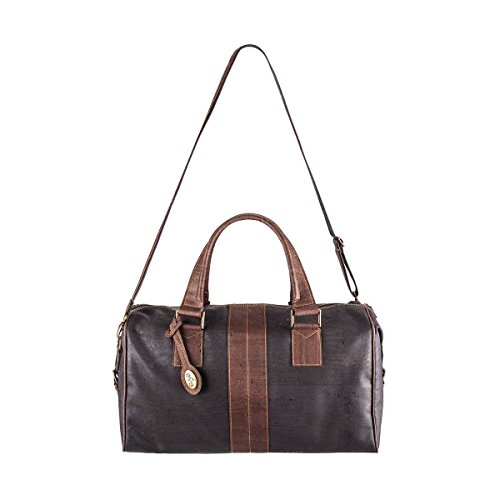 Eve Cork Preston Weekender Travel Duffel Bag, Lightweight, Water Repellant, PETA Approved, Sustainable and Vegan