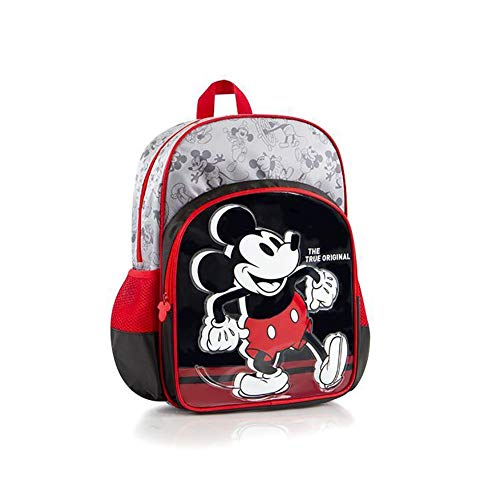 Heys Disney Mickey Mouse Deluxe Backpack - Red and Black