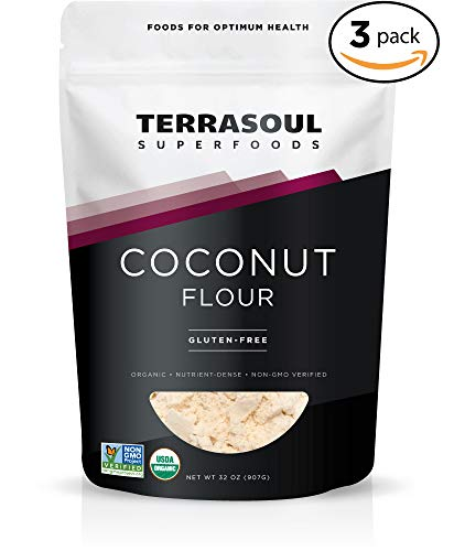 Terrasoul Superfoods Organic Coconut Flour, 6 Pounds