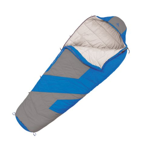 Kelty Light Year XP 40 Synthetic Sleeping Bag, Regular, Blue Aster, Outdoor Stuffs