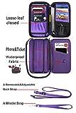 RFID Travel Wallet Passport Holder Neck Pouch for