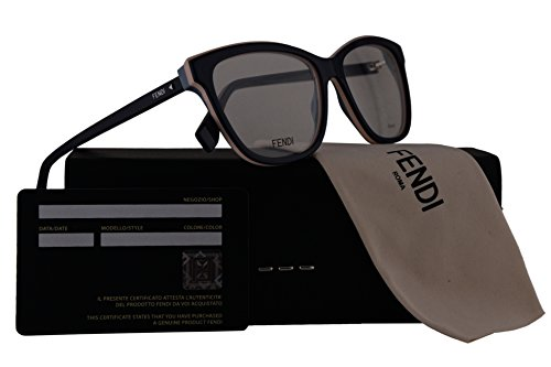 Fendi FF0251 Eyeglasses 54-15-140 Blue w/Demo Clear 54mm Lens PJP FF - Frames Fendi Spectacle