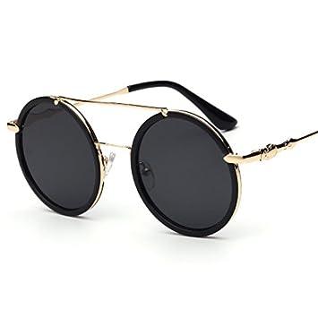 LXKMTYJ Retro Runde Box Sonnenbrille gemischte Migrationsströme in Europa und Amerika Lizenzierung Sonnenbrille Mädchen exklusive Sonnenbrillen C2 als Weiß Silber aDv9UC1e