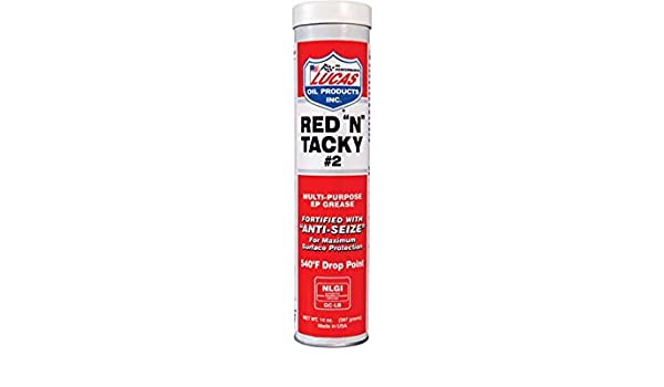 Lucas Oil Products 10005-30 30 Pack Greases((30 Pack) Red N Tacky  Grease/30X1/14 0 Oz Cartridge) 30 Pack