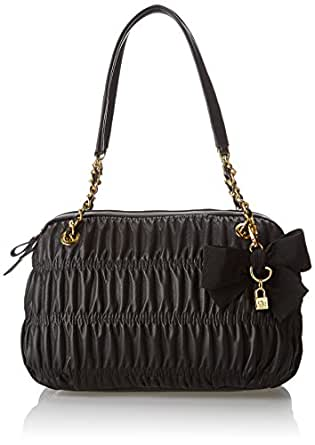 Jessica Simpson Ursula Evening Bag,Black,One Size