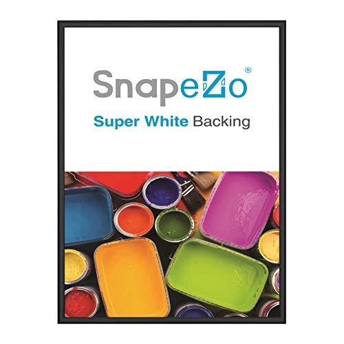 (SnapeZo Photo Frame 5x7 Inch, Black 0.6