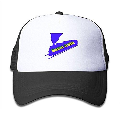 Home Train Reggae Splash Child Baby Kid Adjustable Trucker Hat Summer Mesh Cap Train Trucker Hat
