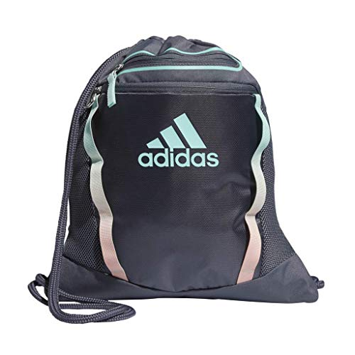 adidas Rumble II Sackpack, Onix/Clear Mint/Clear Orange, One ()