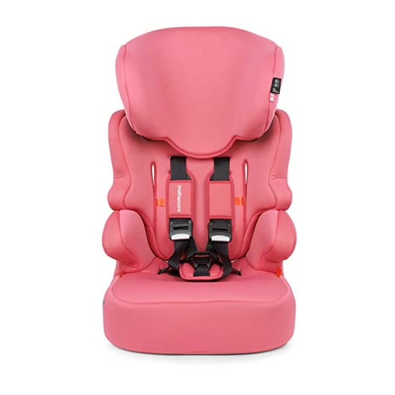 Mothercare Malmo Highback Booster Car Seat, Pink