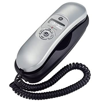 GE Corded Slimline 29267GE3 Phone With Call Waiting Caller ID   White