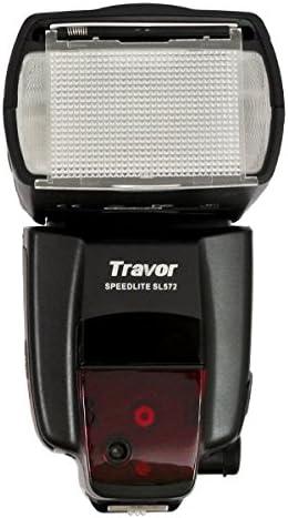 TRAVOR Flash SL572 Professional 58 NG parabólica zoom 24-105 ...