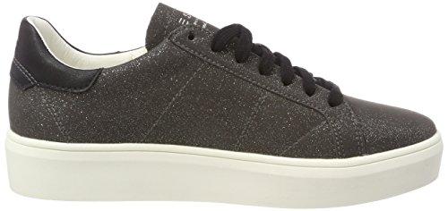 Esprit Dames Elda Lace Up Sneaker Zwart (zwart)