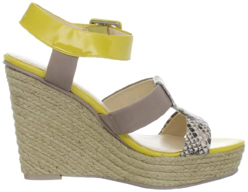 Natural Taupe Sandal Wedge Women's Klein Ellison Calvin waxOq8XZYO