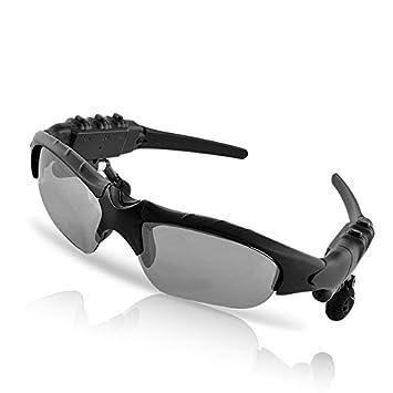 Drivworld Gafas de Sol inalámbricas con Bluetooth 4.1, Estéreo, para Llamadas de teléfono,