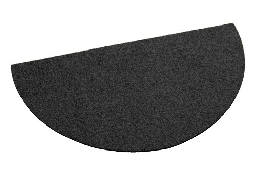 Deko-Matten-Shop Fußmatte Classic, Schmutzfangmatte, halbrund, 55x110 cm, Dunkelblau, in 10 10 10 Größen und 11 Farben B06WP5NFD6 Fumatten e854c1