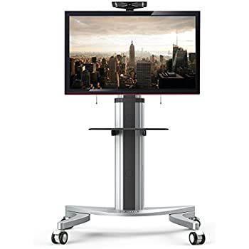 Amazon Com Mobile Tv Stand For 37 To 70 Inch Flat Screen