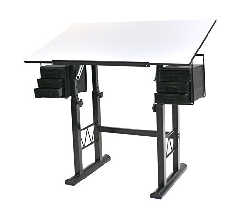 Martin Sheffield Drawing Table with 23.5 by 40-Inch, White by Martin
