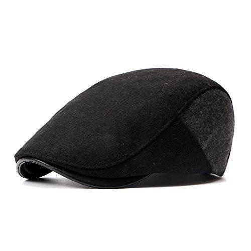 de mediana Black sombrero lengua Invierno edad Beret de Navidad mediana sombreros gris edad beanie MASTER adelante Halloween sombrero hat gorro color Otoño pato man o wxSRnq1Y