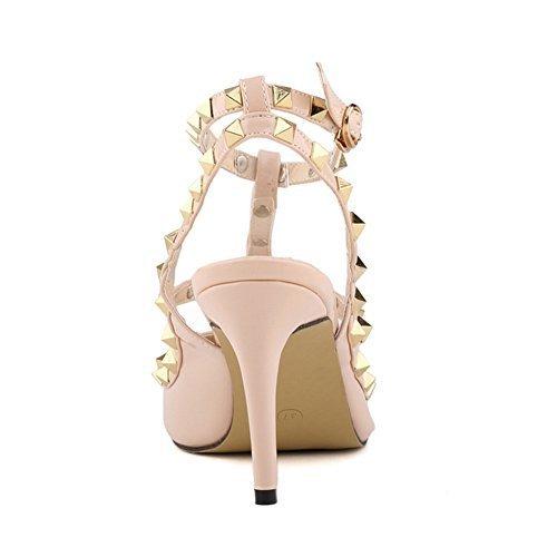8a9ede10f0e3 Loslandifen Ladies High Heels Party Wedding Count Pump - Import It All