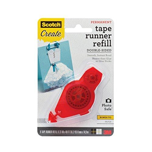 Scotch Tape Runner Refill, .31 in x 16.3 yd (055-R-CFT) - 3m Tape Runner