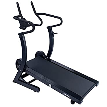 ASUNA 7700 High Performance Manual Treadmill with Dual Flywheel and Incline