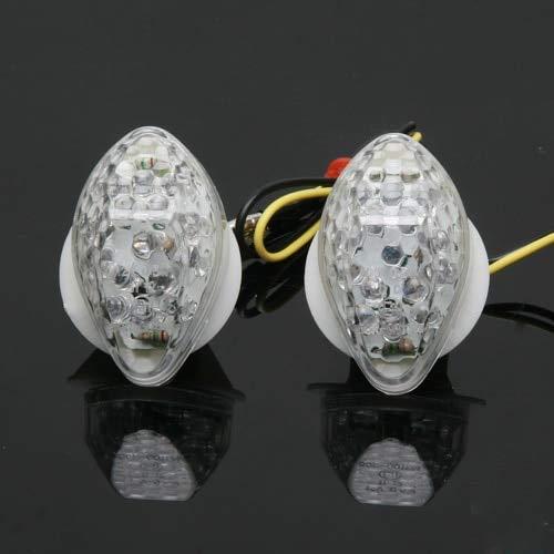 - GOLDEN2STAR - Flush Mount LED Indicators Light For Honda CBR 600RR F3 F4 F4I CBR1000RR CB 919F
