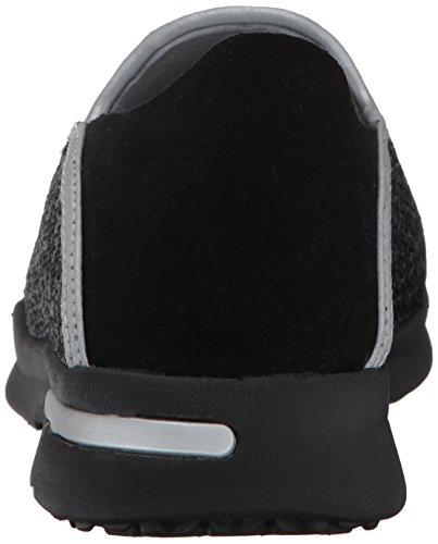 Simba Grey Black Flat SoftWalk Women's p5qwUnW6