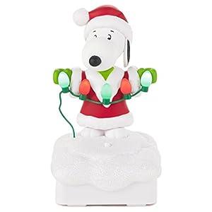 Amazon.com: Hallmark Snoopy Peanuts® Gang Christmas Light Show ...