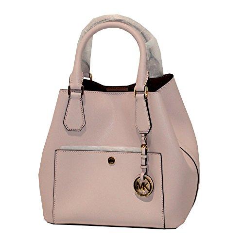 MICHAEL Michael Kors GREENWICH Women's Shoulder Handbag LARGE GRAB BAG - Bag Rose Mk Gold