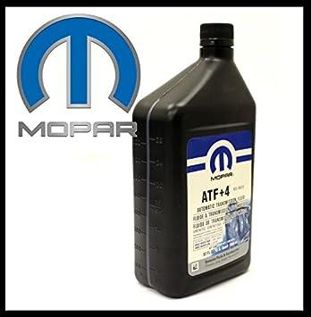 Original Mopar - Aceite para transmisión automática ATF+4, contenido 946 ml: Amazon.es: Coche y moto