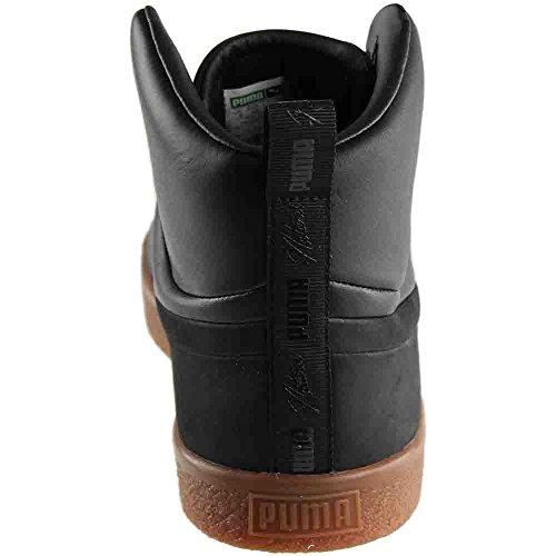 Black M Women Mid Unisex Fashion US 5 PUMA Naturel Sneaker Men 9 7 Clyde x xOAfz0