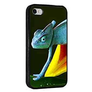 Chameleon Iphone 4 4s Tpu Rubber Case Black, Iphone Cover - All Carriers