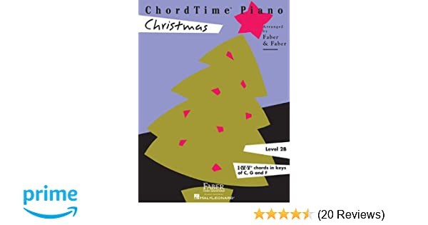 ChordTime Christmas: Level 2B (Chordtime Piano, Level 2b, I-iv-v7 ...