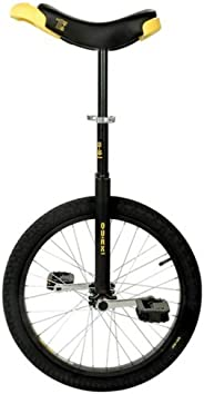 Unicycle Qu-Ax Luxus, 406 mm (20 Inches), Black by Qu-Ax