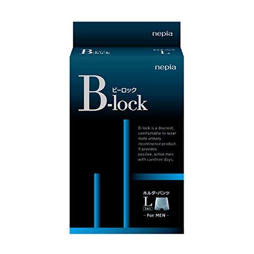 王子ネピア:ネピア B-lockホルダーパンツ L 1枚入×5個入り 尿漏れ 軽失禁 B01KNYMB9A