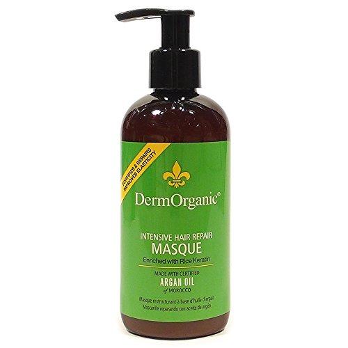 DermOrganic Masque Intensive Hair Repair,8.5fl.oz