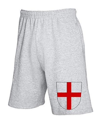 Tuta Pantaloncini Of Arms Tstem0036 Grigio Freiburg Coat shirtshock T 7q4CTw