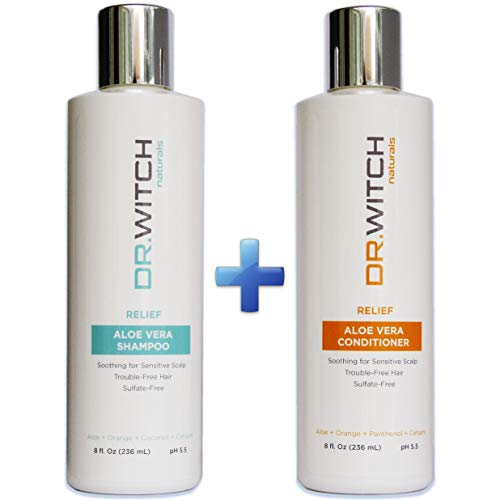 Scalp Relief, Hair Growth Shampoo & Conditioner Set. Natural