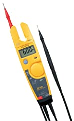 600V Electrical Testers let you check voltage, continuity and current with one compact tool. With the T5, all you have to do is select volts, ohms, or current and the tester does the rest. OpenJaw current lets you check current up to 100A - w...