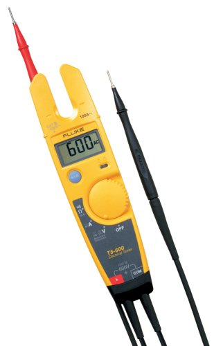 Fluke T5600 Electrical Voltage, Continuity and Current Tester ()